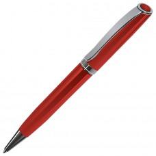 STATUS, ручка шариковая, красный/хром