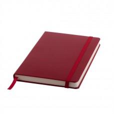 Ежедневник недатированный Ellie, А5, бордовый, кремовый блок, без обреза