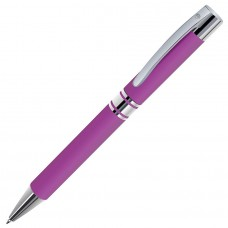 CITRUS, ручка шариковая, розовый/хром