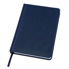 Ежедневник датированный Bliss, А5,  темно-синий, белый блок, без обреза