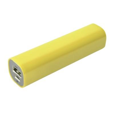Внешний аккумулятор Easy Shape 2000 мАч, желтый