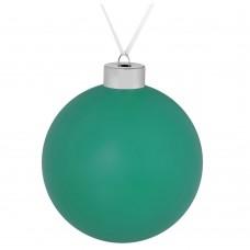 Елочный шар Color, 10 см, зеленый