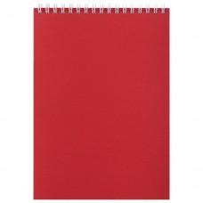 Блокнот Nettuno в линейку, красный
