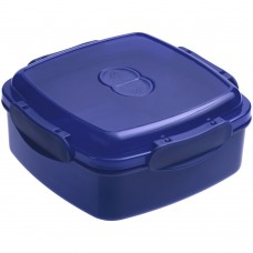Ланчбокс Cube, синий