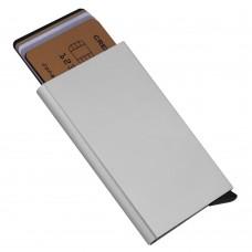 Футляр для кредитных карт Motion, серебристый