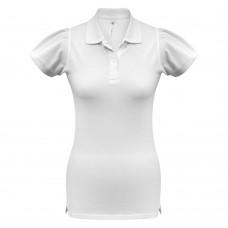 Рубашка поло женская Heavymill белая