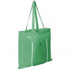 Складная сумка Unit Foldable, зеленая
