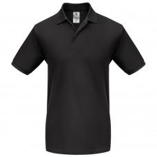 Рубашка поло Heavymill черная