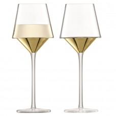 Набор бокалов для вина Space, золотистый