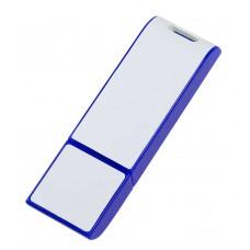 Флешка Blade, синяя с белым, 8 Гб