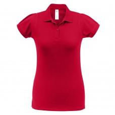 Рубашка поло женская Heavymill красная