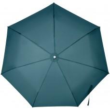 Складной зонт Alu Drop S, 3 сложения, 7 спиц, автомат, синий (индиго)