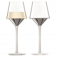 Набор бокалов для вина Space, платиновый