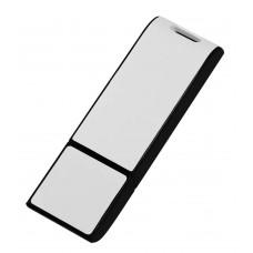 Флешка Blade, черная с белым, 8 Гб