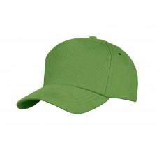 Бейсболка Unit Standard, ярко-зеленая