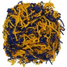 Бумажный наполнитель Chip Mix, синий с оранжевым