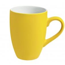 Кружка Best Morning c покрытием софт-тач, желтая